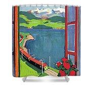 Lake Geneva Shower Curtain