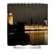 River Thames Shower Curtain