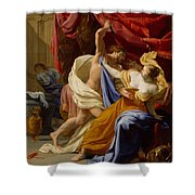 The Rape Of Tamar  Shower Curtain