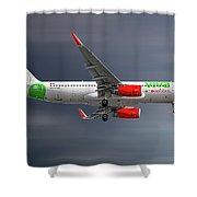 Vivaaerobus Airbus A320-232 Shower Curtain