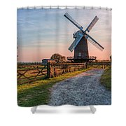 Wilton Windmill - England Shower Curtain
