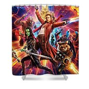 Guardians Of The Galaxy Shower Curtain