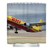 Dhl Airbus A300-f4 Shower Curtain