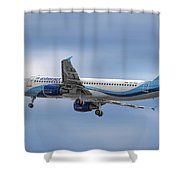 Interjet Airbus A320-214 Shower Curtain