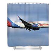 Jet2 Boeing 737-33v Shower Curtain