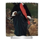 Portrait Of May Sartoris Shower Curtain