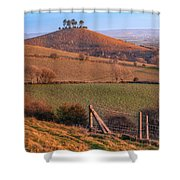 Colmers Hill - England Shower Curtain