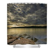 Loch Na Keal Shower Curtain