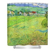 View Of Vessenots Near Auvers Shower Curtain