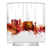 Cape Town South Africa Skyline Shower Curtain