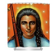 Spirit Guide Painting Collection Shower Curtain
