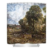 Stoke-by-nayland Shower Curtain