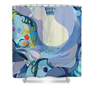 70 Degrees Shower Curtain
