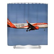 Easyjet Neo Livery Airbus A320-251n Shower Curtain