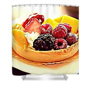8 Eat Me Now  Shower Curtain