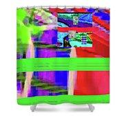 9-18-2015fabcdefghijk Shower Curtain