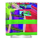 9-18-2015fabcdefghijkl Shower Curtain