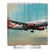 Air India Cargo Airbus A310-304 Shower Curtain