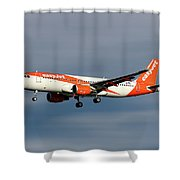 Easyjet Airbus A320-214 Shower Curtain
