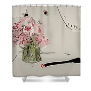 A Bouquet For Patricia  Shower Curtain