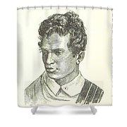 A Boy Shower Curtain