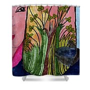 A Coveted Vase Shower Curtain