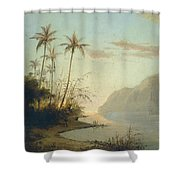 A Creek In St. Thomas Virgin Islands, 1856 Shower Curtain