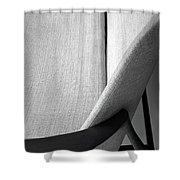A Danish Settee Shower Curtain