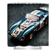 A Daytona Classic Shower Curtain