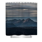 A Distant Engineer Shower Curtain