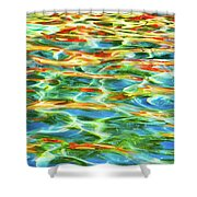 A Feast Of Colours Shower Curtain