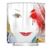 A Girl For These Times Shower Curtain