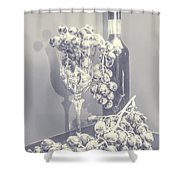 A Grape Gala Shower Curtain