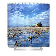 A Little Place In Time Shower Curtain