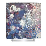 A Message Of Love Shower Curtain