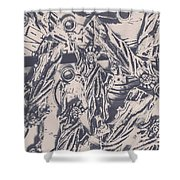 A Souvenir Of Statues Shower Curtain