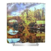 A Stop Along The Wey Shower Curtain
