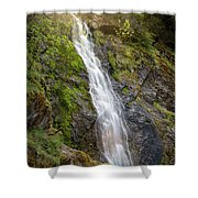 A Touch Of Light On Bridal Veil Falls Shower Curtain
