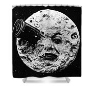 A Trip To The Moon, 1902  Shower Curtain