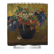 A Vase Of Flowers  Shower Curtain