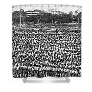 A Very Large Event Shower Curtain