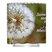 A Weed Or Wish? Shower Curtain