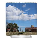 Abandoned Farm Shower Curtain
