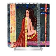 Abhisarika 2 Shower Curtain