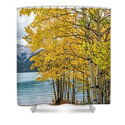 Abraham Lake Shower Curtain