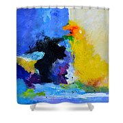 Abstract 779130 Shower Curtain