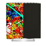 abstract composition K12 Shower Curtain