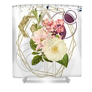 Abstract Dream Shower Curtain by Bee-Bee Deigner