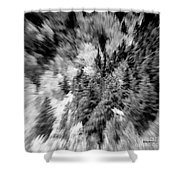 Abstract Forest Photography 5501e2 Shower Curtain by Ricardos Creations