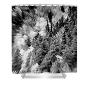 Abstract Forest Photography 5501e3 Shower Curtain by Ricardos Creations